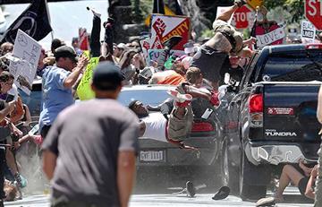 Charlottesville: Identifican al autor del atropello a personas en marcha