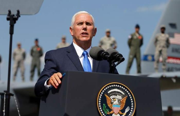 Mike Pence, vicepresidente de EE.UU, hará visita oficial a Colombia. Foto: AFP