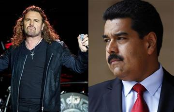 """Venezuela: Vocalista de Maná dice que Maduro """"es un asesino"""""""