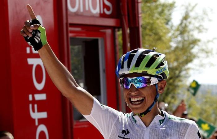 Esteban Chaves. Foto: AFP