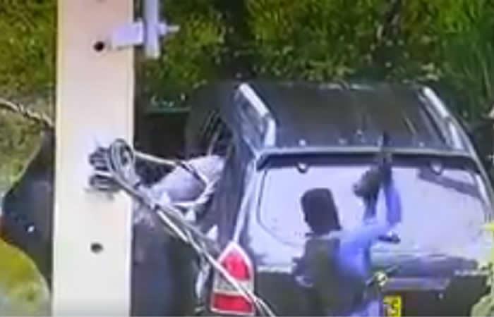 Ataque a carro de valores en Tibú quedó registrado en video