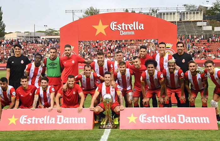 Marlos Moreno debutó y ganó con el Girona al Manchester City