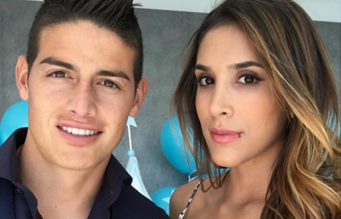 Daniela Ospina lanzó su línea de ropa deportiva con el apoyo de James Rodríguez