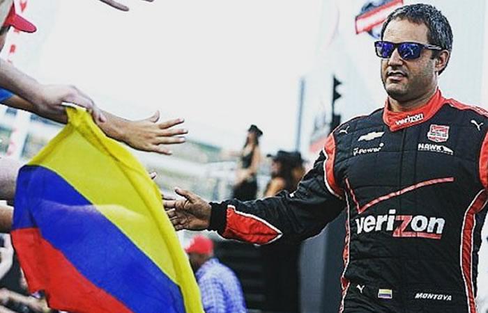 Juan Pablo Montoya. Foto:InstagramOficial