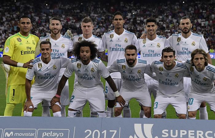 Real Madrid venció al Barcelona y se hace con la Supercopa de España