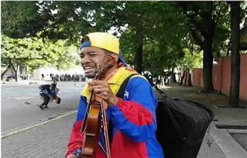 Venezuela: Liberado Wuilly Arteaga, el violinista de las marchas
