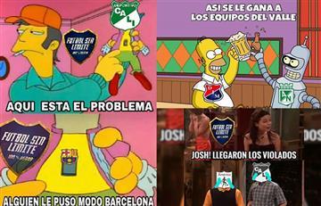 América y Cali perdieron contra Nacional y Medellín y las redes se burlaron con memes