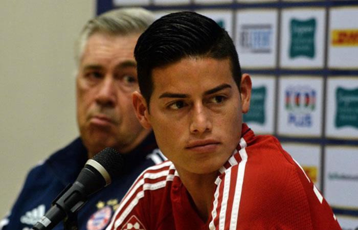 James Rodríguez: Lo que dice Ancelotti sobre el colombiano no es para nada bueno