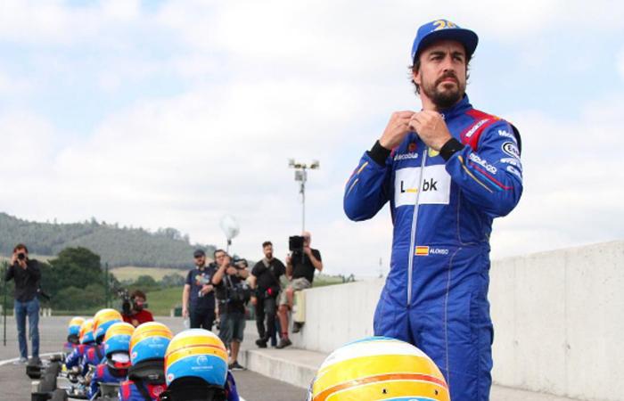 Fernando Alonso. Foto:InstagramOficial