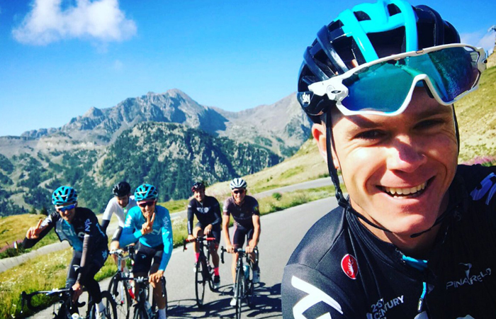 Chris Froome. Foto: Twitter