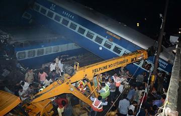 India: Más de 20 muertos en accidente de tren