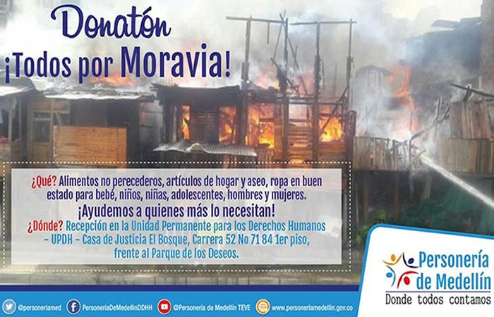 Moravia: ¿Cómo ayudar a los damnificados por el incendio?