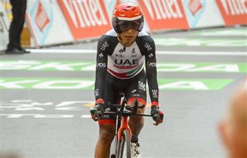 Vuelta a España: Darwin Atapuma sufre una caída en la primera etapa