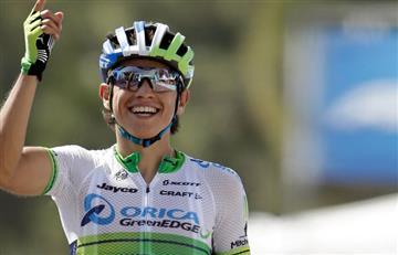 Vuelta a España: Esteban Chaves el mejor colombiano en la primera etapa