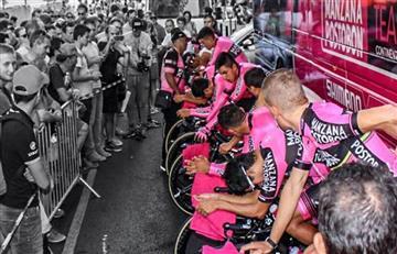 Vuelta a España: Manzana Postobón listo para dejar en alto a Colombia