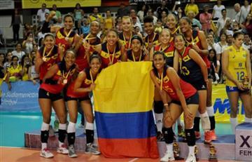 Colombia logra subcampeonato sudamericano de voleibol femenino