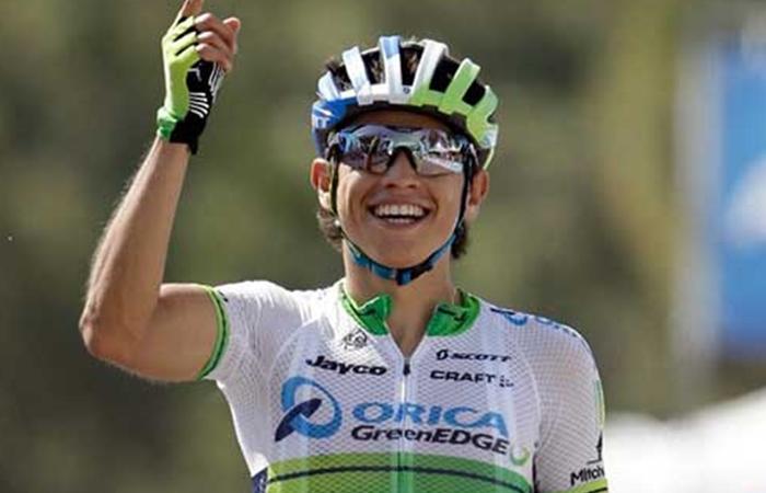 Esteban Chaves el mejor colombiano de la etapa 2 de la Vuelta a España