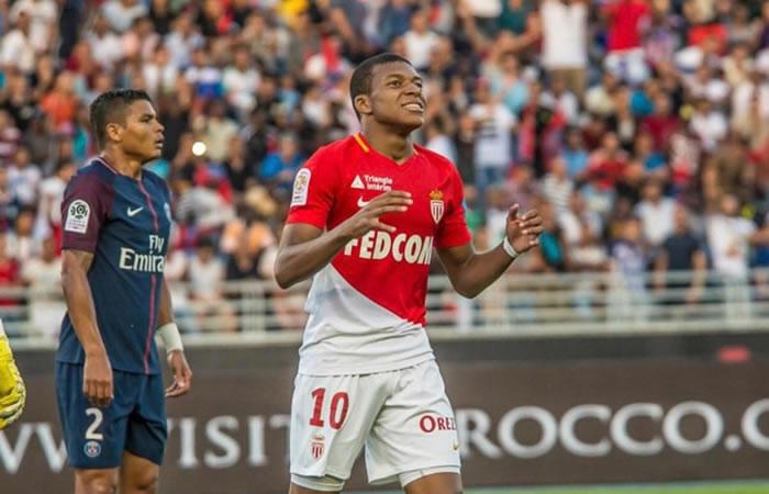 Mbappé y su polémica pelea en el entrenamiento con el Mónaco