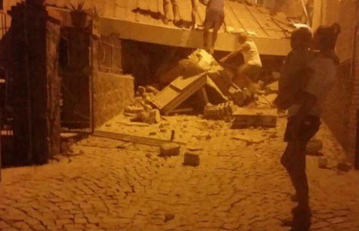 Sismo de 3,6 en Nápoles deja varios heridos y edificios destruidos
