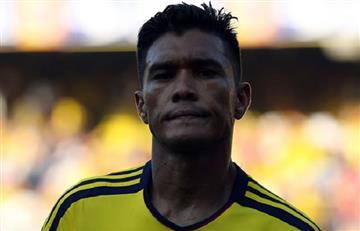 Teófilo Gutiérrez podría sumarse a las bajas de la selección Colombia