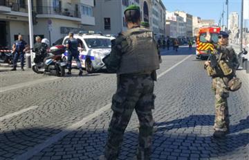 En Marsella, Francia, una furgoneta arrolló a una mujer y dejó a otra herida
