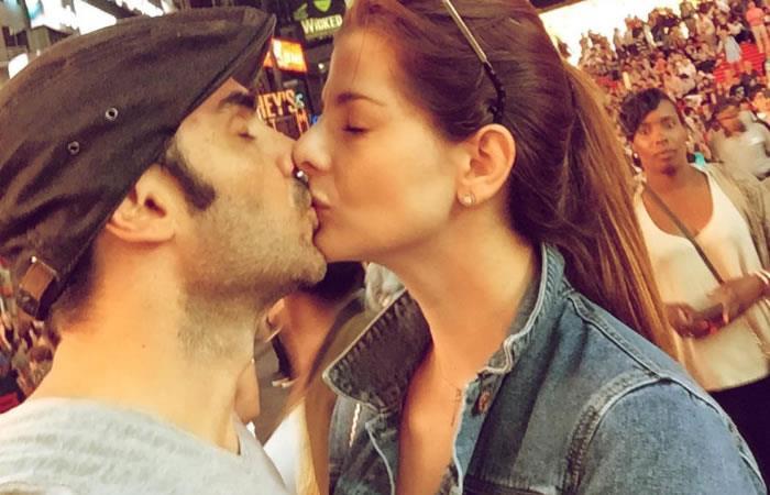 Carolina Cruz y Lincoln Palomeque celebran aniversario