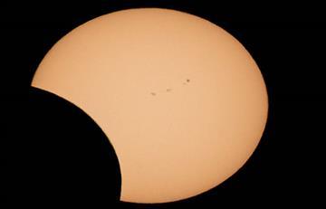 Hechos interesantes que ocurrieron durante el eclipse