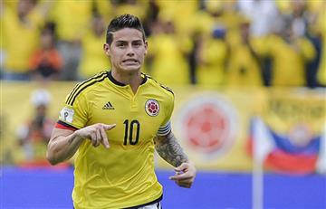 James Rodríguez no jugaría con Colombia por decisión del Bayern Múnich