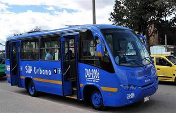 Bogotá: Ladrones asaltaron un bus del SITP
