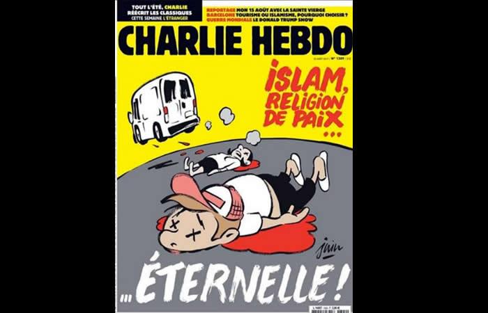 ¿Charlie Hebdo culpa al Islam de atentados terroristas?