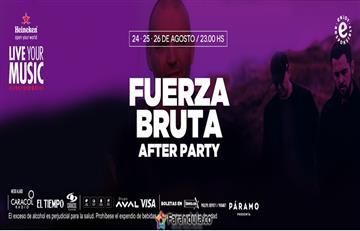 Fuerza Bruta: Regresa el After Party a Bogotá