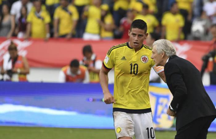 Pékerman habría convencido al Bayern para convocar a James Rodríguez
