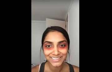 YouTube: Usando labial rojo podrás eliminar las ojeras