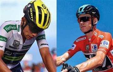 Vuelta a España: Así respondió Esteban Chaves el ataque de Chris Froome