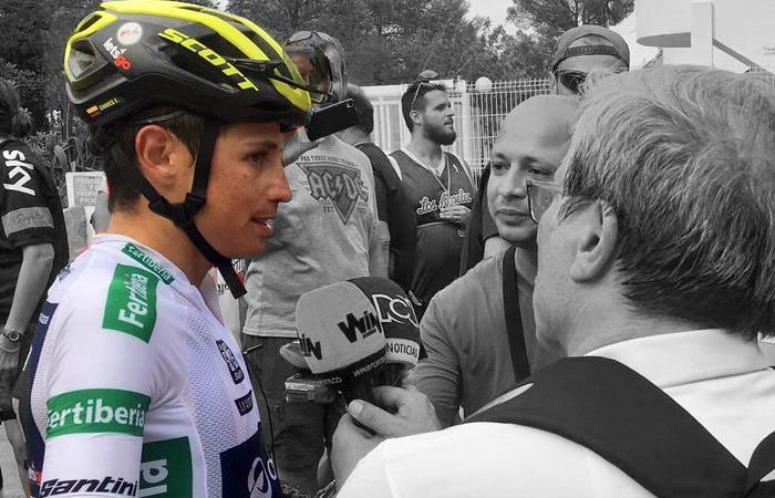 Vuelta a España: Esteban Chaves le pide calma a los colombianos