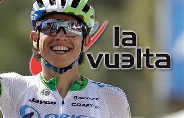 Vuelta a España: Esteban Chaves no deja ir a Chris Froome en la etapa 5
