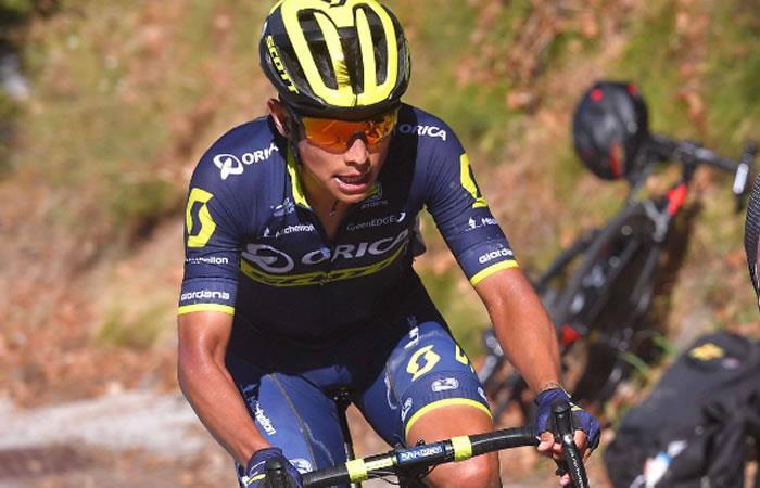Vuelta a España: Esteban Chaves se luce y ahora es tercero en la general