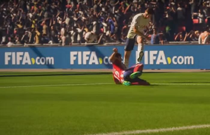 Youtube: Sorprendentes imágenes del tráiler FIFA 18