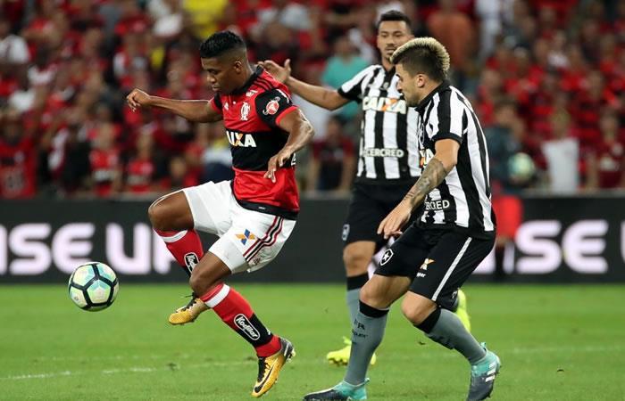 Flamengo clasificó a la final de la Copa con increíble jugada de Berrío