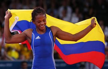 Jackeline Rentería gana bronce en Mundial de Lucha en París