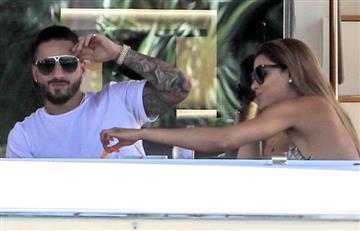 Maluma y Ariadna Gutiérrez fueron vistos junto en un yate privado