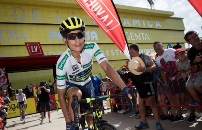 Vuelta a España: ¿Cómo van los colombianos en la general?