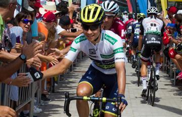 Vuelta a España: Esteban Chaves el mejor colombiano en la etapa 6