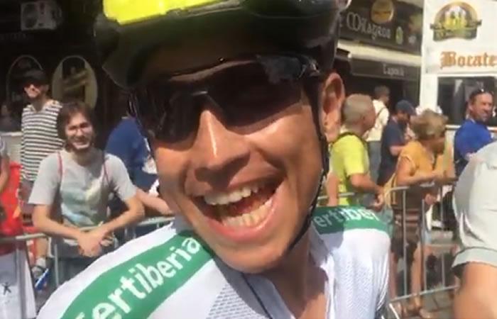 Vuelta a España: Esteban Chaves va por todo en la etapa 6