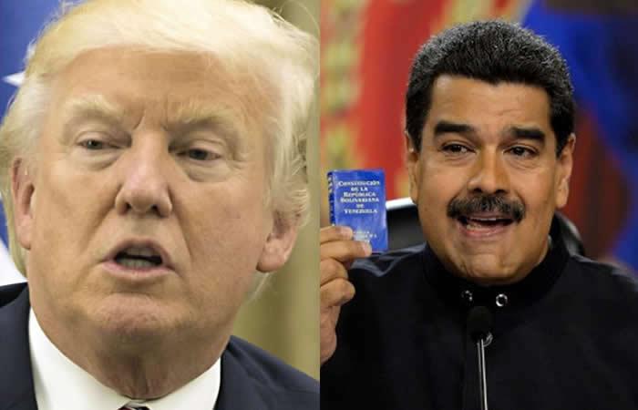 Estados Unidos descarta intervención militar en Venezuela