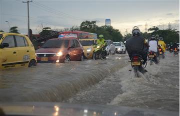 Fuerte ola invernal afectó a Barranquilla