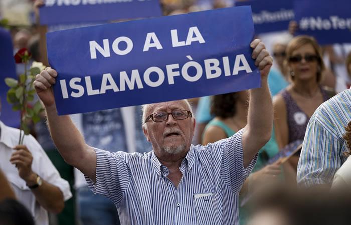 Barcelona grita ¡No tengo miedo!