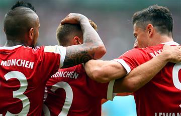 Bayern Múnich sin James Rodríguez consigue una importante victoria