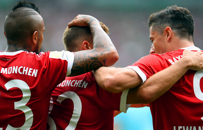 Bayern Múnich. Foto: AFP