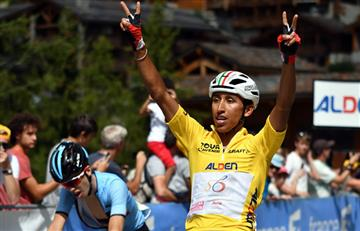 Egan Bernal imparable en el Tour de L'Avenir